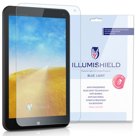 iLLumiShield Screen Protector w UV Blue Light Filter 1x for HP Stream 8