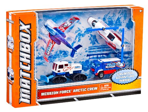 Matchbox Sky Busters Mission Force Arctic Adventure Pack by