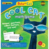 Edupress Pete the Cat Cool Cat Math Game, Grade 1