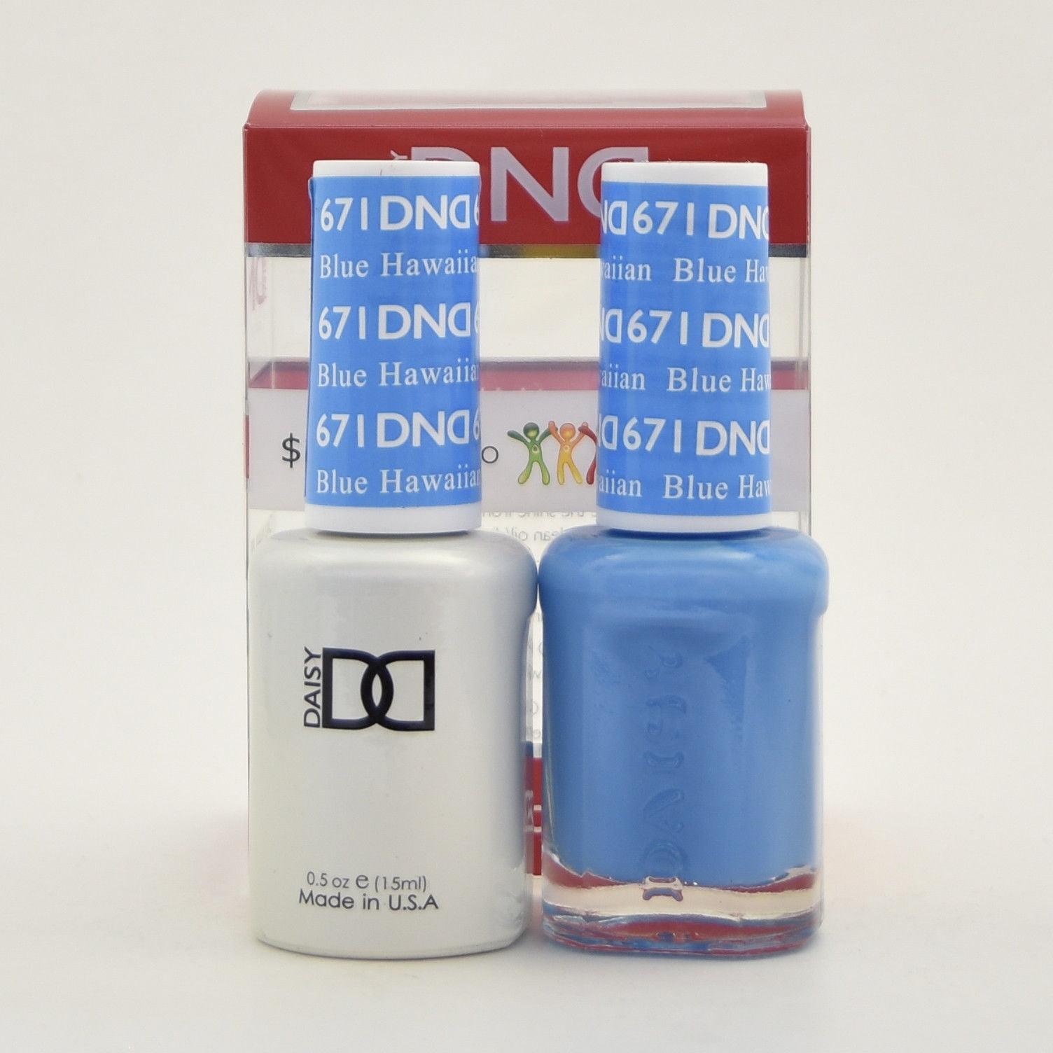 Walmart Gel Polish: DND Duo Nail Gel Polish 671 Blue Hawaiian