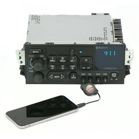 (New 95-05 GMC Chevy Car Truck Van AM FM Radio Aux Input & Bluetooth CD Controls)