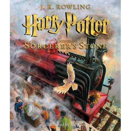 Harry Potter and the Sorcerer's Stone: The Illustrated Edition (Harry Potter, Book 1): The Illustrated Edition - Harry Potter With Glasses