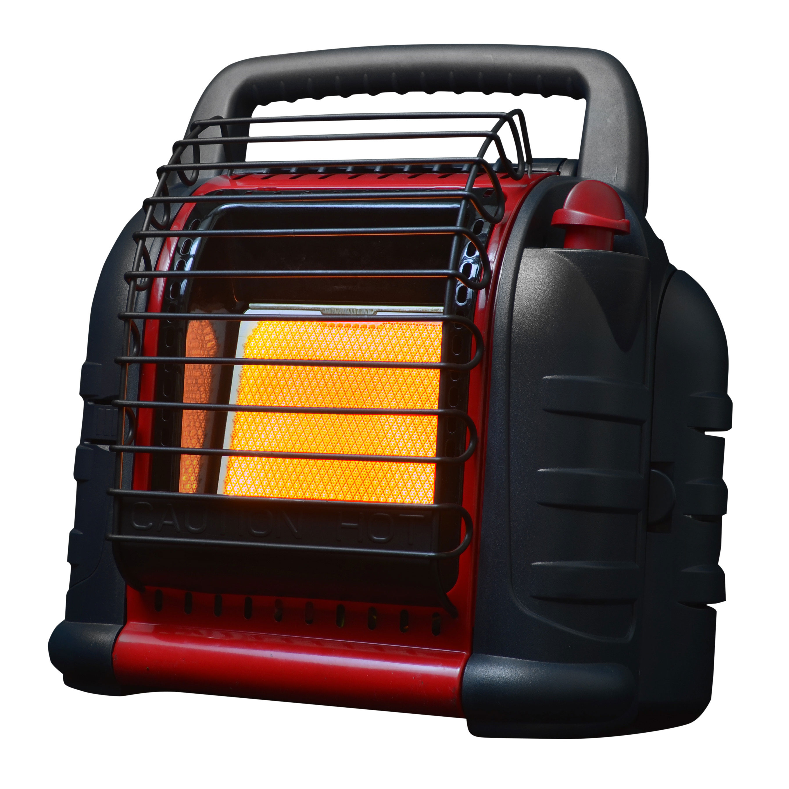 Mr Heater MH12B 12000 BTU Red Hunting Buddy Portable Propane Gas Heater with Fan