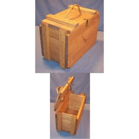 THE PUZZLE-MAN TOYS W-2641 Functional Wooden Furniture - Ammunition Box - 8 x 15-10 in. High - image 1 de 1