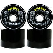 BIGFOOT Longboard Wheels 76mm CRUISERS Black