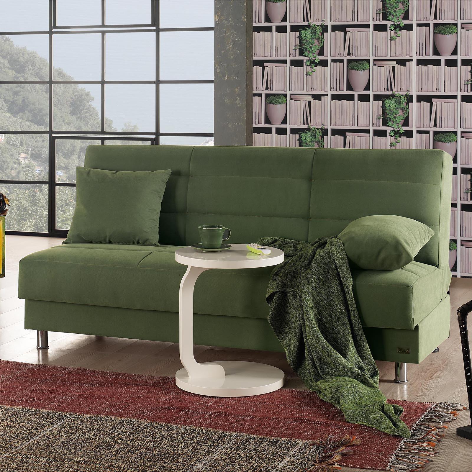 Empire furniture usa atlanta armless modern convertible sofa walmart com
