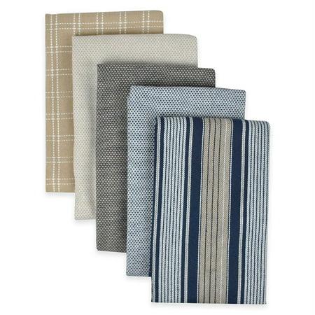 DII Kitchen Towels (Indigo, 16x26