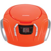 Sylvania SRCD261 Portable CD Player with AM/FM Radio