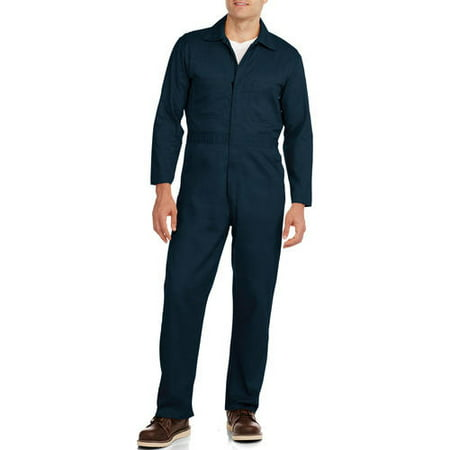 Big Men's Flame Resistant Contractor Coverall, HRC Level 2 (Chemical Resistant Coveralls)