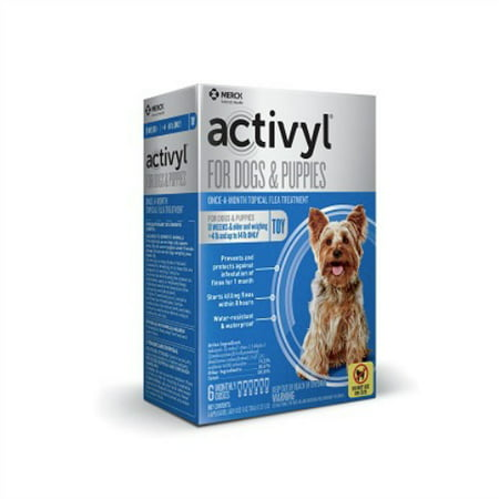 Dog 12 Month Supply (Activyl for Dogs - 6 Month Supply (4-14 lbs))