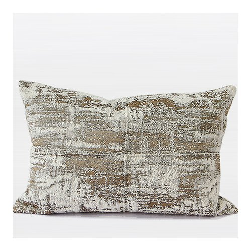 G Home Collection Luxury Chenille Lumbar Pillow