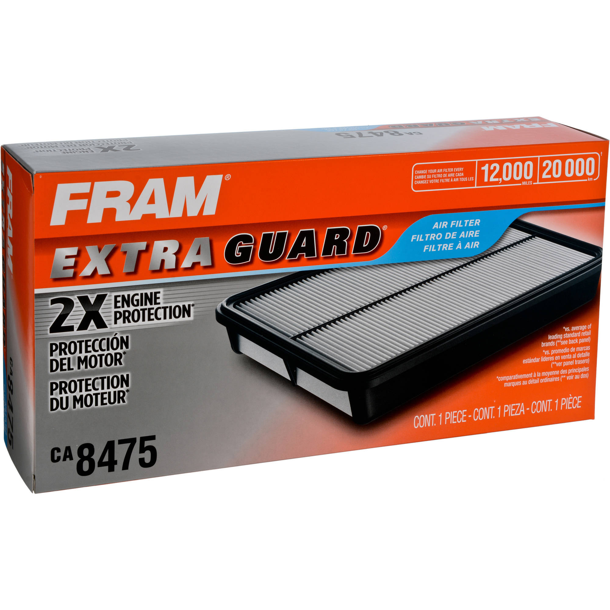 FRAM Extra Guard Air Filter, CA8475