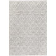 "Capel Rugs Channel Rectangular Machine Woven Area Rug - Silver - 7' 10"" x 10' 10"""