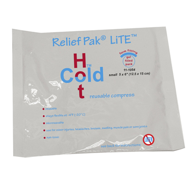 "Relief Pak Val-U Pak Lite Cold N' Hot Pack - 5"" X 6"" - 12 Each / Case - 11-1054-12"
