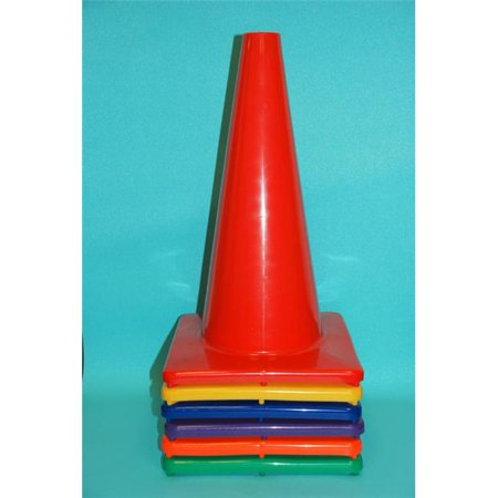 Everrich Evb 0032 18 Inch Vinyl Cone With Square Base