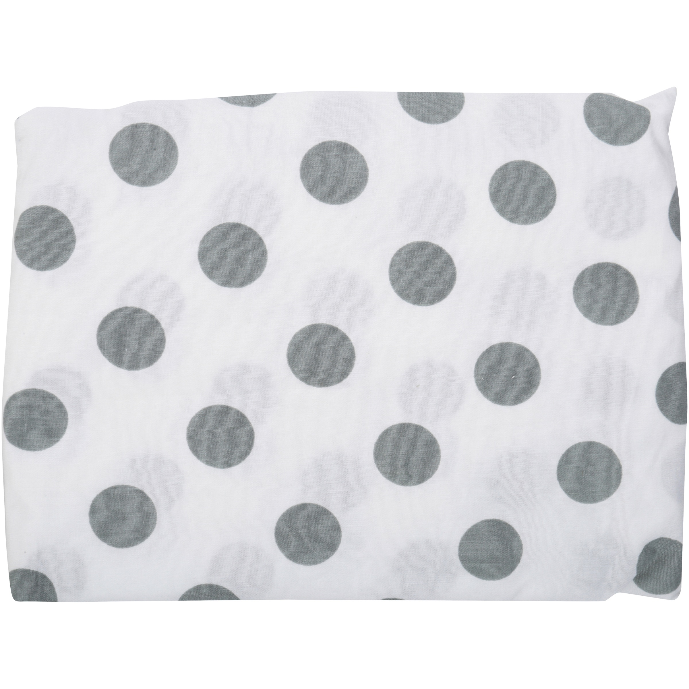 TL Care® White with Grey Dots Fitted Mini Crib Sheet Pack