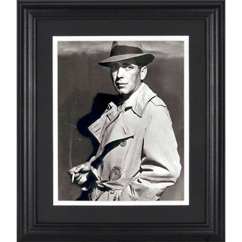 Humphrey Bogart Framed Unsigned 8x10 Photograph