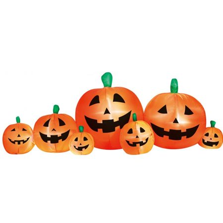 Gooseberry Patch Halloween (8' Pumpkin Patch Inflatable Halloween)