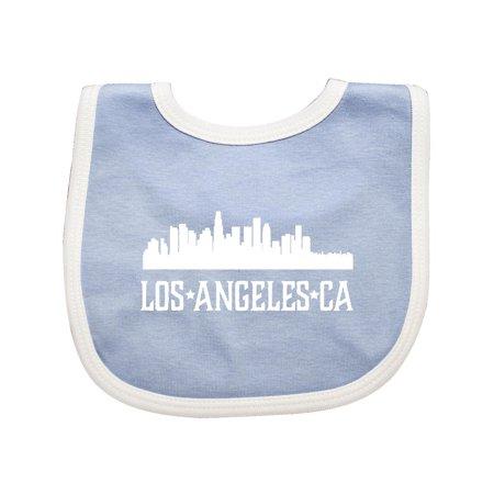 Los Angeles California CA Cities Baby Bib (Best Baby Back Ribs In Los Angeles)