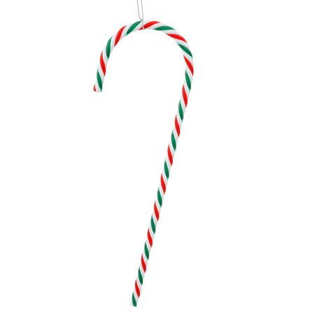 Vickerman 2ct Striped Candy Cane Christmas Ornament Set 18