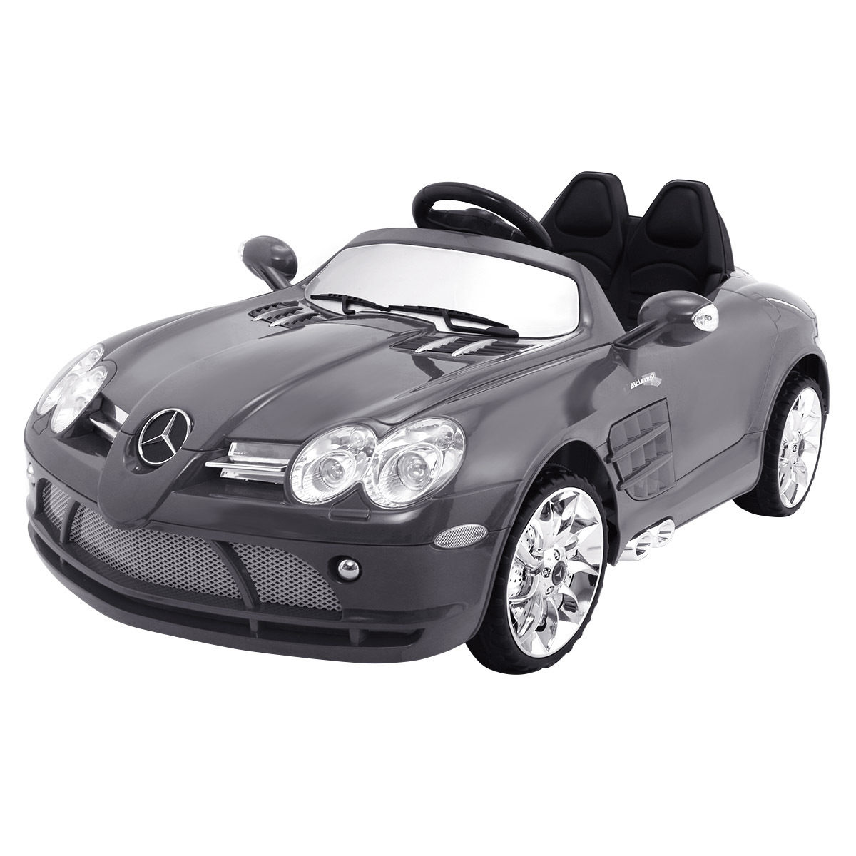 Costway Mercedes-Benz R199 Lisenced 12V Electric Kids Ride On Car RC Remote Control MP3 by Costway