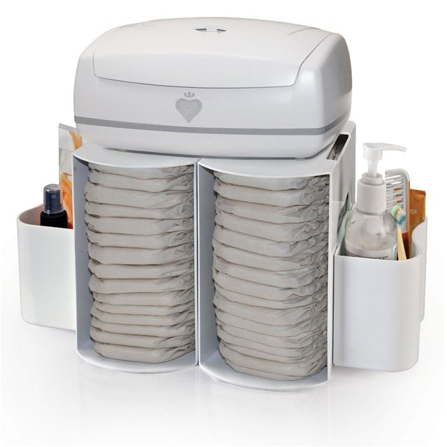 Prince Lionheart Modular Diaper Depot Orgnizer