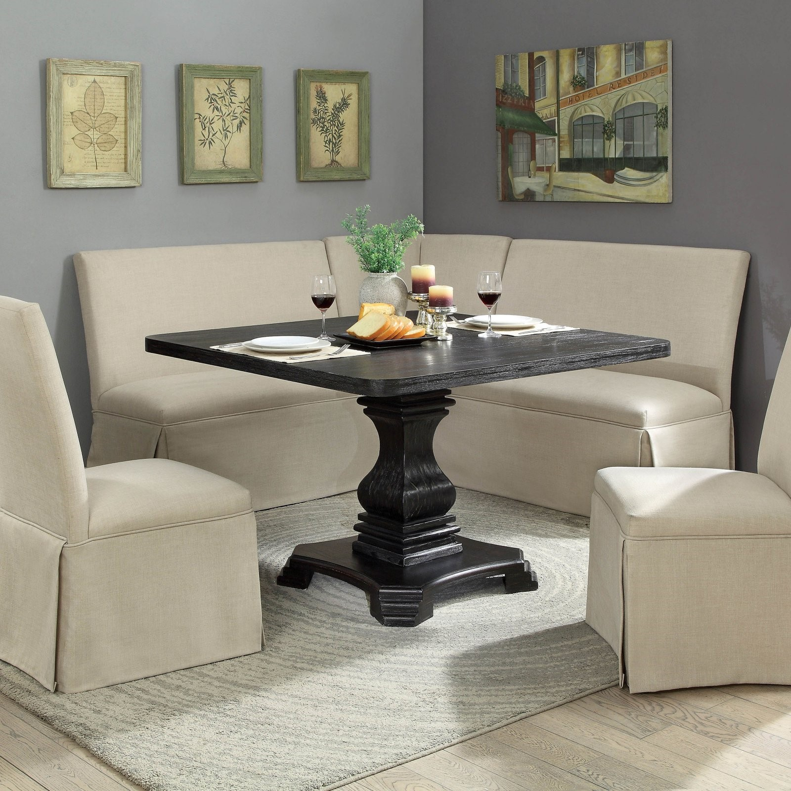 Furniture of America Anton Square Dining Table