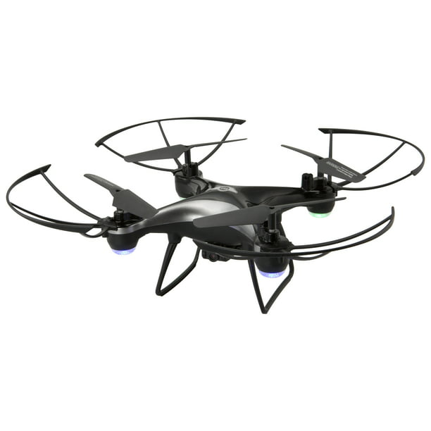 Sky Rider Thunderbird Quadcopter Drone with Wi-Fi Camera, DRW389, Black