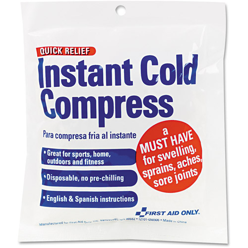 First Aid Only Instant Cold Compress