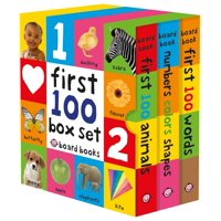 First 100 Board Book Box Set (3 Books) (Hardcover)
