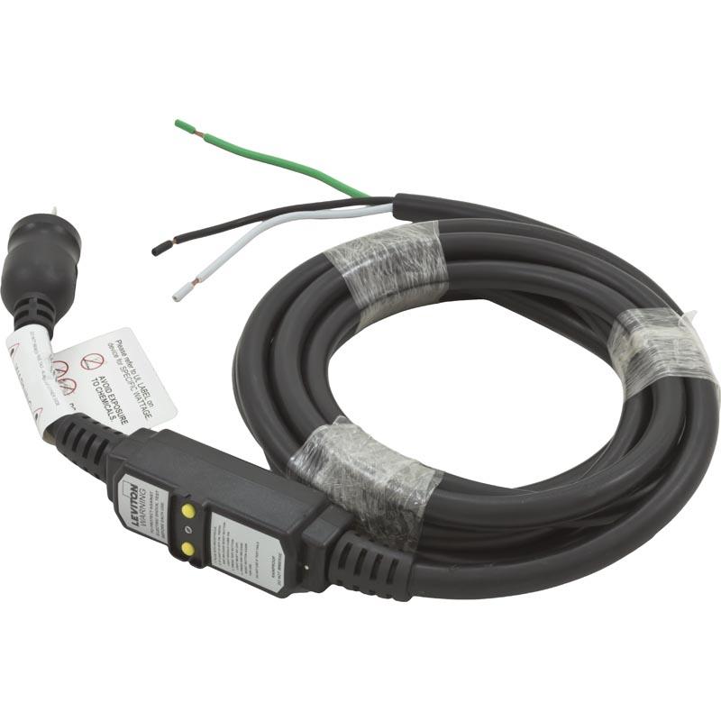Power Cord, 20A, 15 foot, GFCI, for 115v Installs