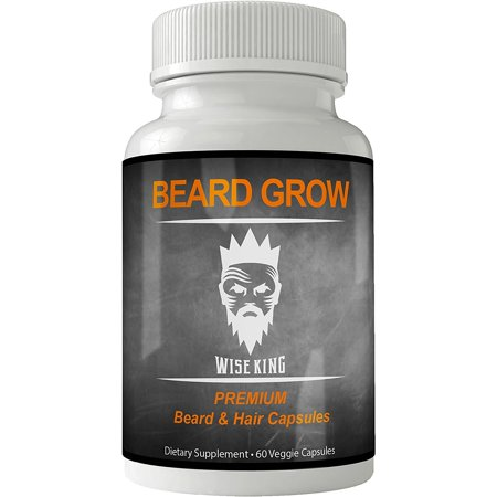 Beard Grow Booster Vitamins   Facial Hair Growth Supplement Stimulator For Men   Natural Capsules With Biotin   Extra Faster Xl Formula For Man   Pills For Thickening Hair   Fast Multivitamin Tablets