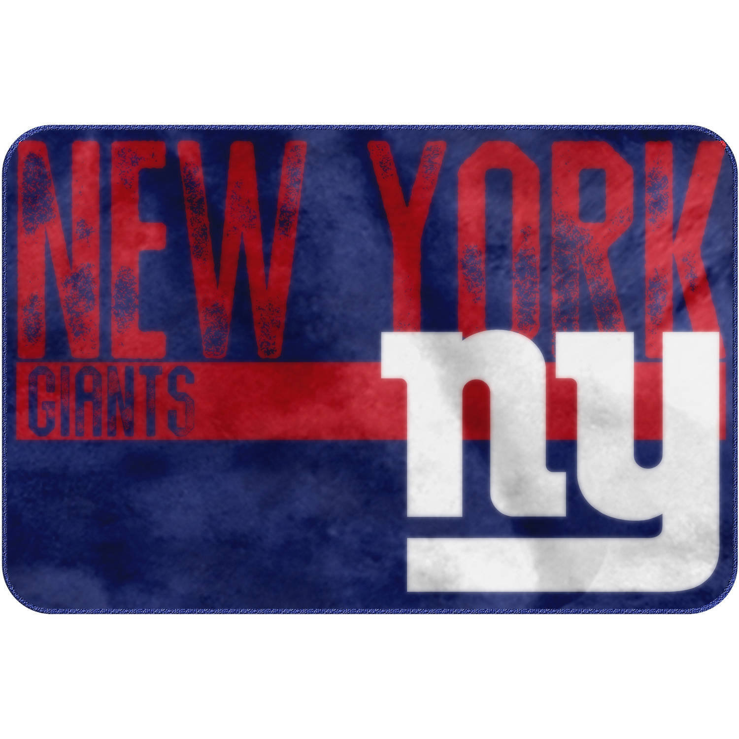 "NFL New York Giants ""Worn Out"" Mat, 20"" x 30"""