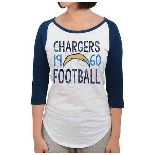 NFL Los Angeles Chargers Juniors Long Sleeve Graphic Tee