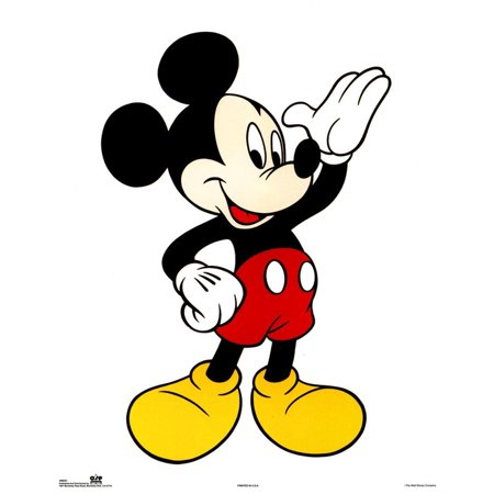 Walt Disney Mickey Mouse Classic Mini Poster - 16x20 - Mickey Mouse Poster