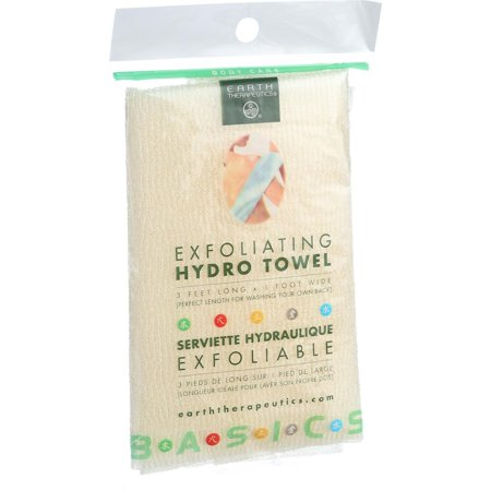Earth Therapeutics Hydro Towel - Exfoliating - 1 Towel (Exfoliating Hydro Towel)