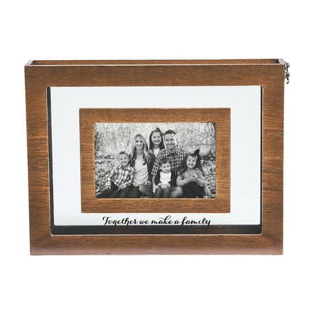IN-13794573 Blended Family Sand Ceremony Photo Frame