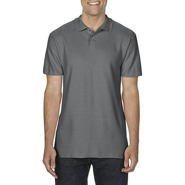 Gildan Softstyle Mens Short Sleeve Double Pique Polo Shirt