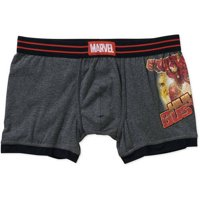 Marvel Comics Avengers Hulkbuster Gray Boxer Brief