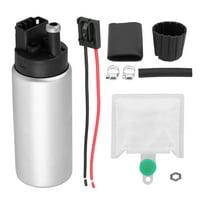 Tebru High Pressure Replacement ELectric Intake Racing Fuel Pump Kit GSS342 255LPH, Intake Racing Fuel Pump, ELectric Fuel Pump
