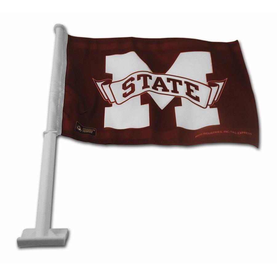 NCAA Mississippi State Car Flag