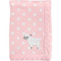 Child of Mine by Carter's Plush Valboa Blanket, Baby Girls