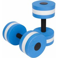 Trademark Innovations Aquatic Exercise Dumbells For Water Aerobics, Set of Two, in Multiple Colors