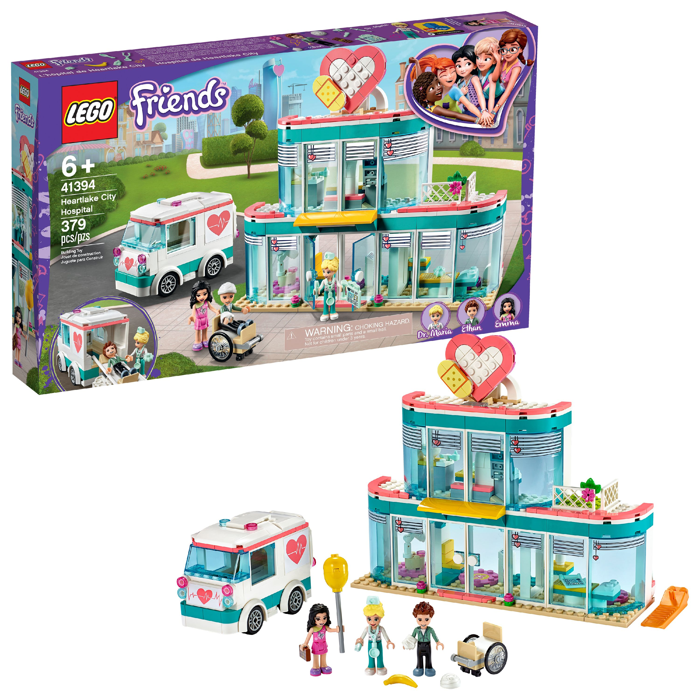 LEGO Friends Heartlake City Hospital Doctor Toy Building Kit 41394