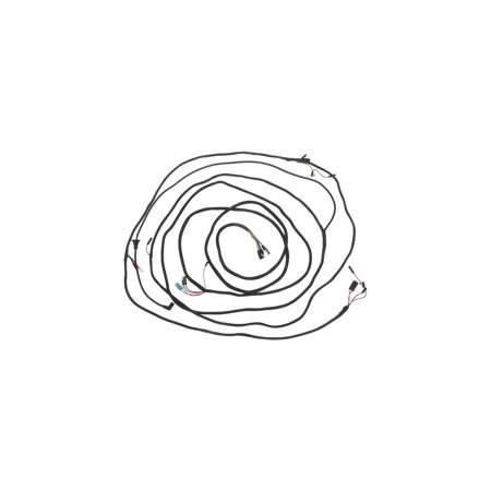 MACs Auto Parts  60-36143 Body Wiring - Ford Galaxie 500 2 Door & 4 Door Hardtop & Convertible With Cruise-O-Matic