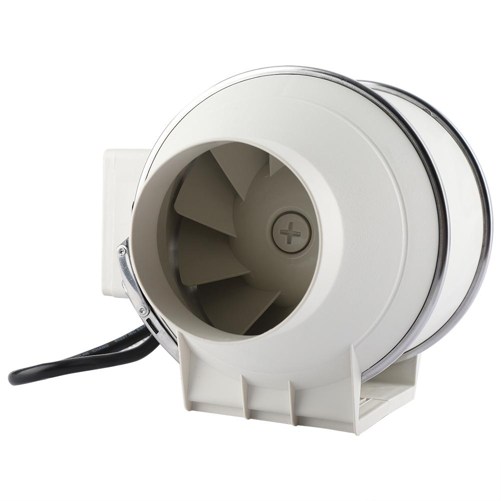 Lv. life High Efficiency Inline Duct Fan Air Extractor Bathroom Kitchen Ventilation System 110V US Plug, Exhaust Fan, Inline Ventilation Fan