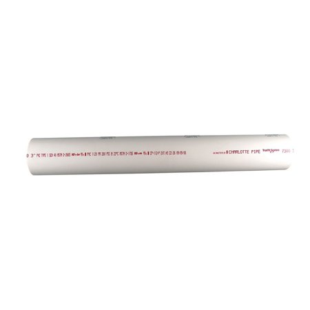 Charlotte Pipe Pvc Sch 40 Solid Pipe 3 4   X 2