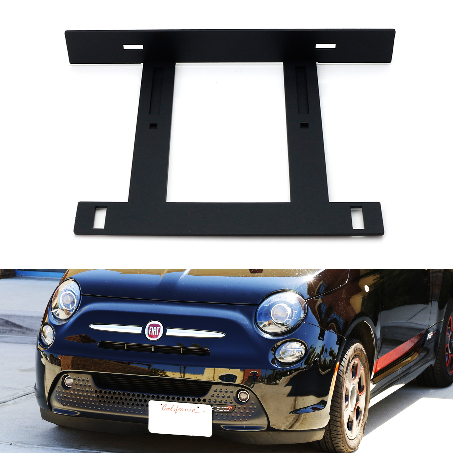 09-ON 2 BICYCLE REAR MOUNT CARRIER CAR RACK for FIAT 500C 500 C