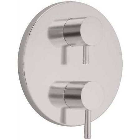 American Standard T064.740.002 Serin 2-Handle Thermostat Trim Kit with Metal Lever Handles, Available in Various Colors