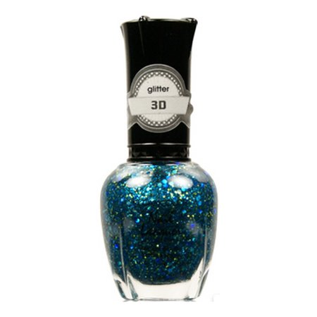 KLEANCOLOR 3D Nail Lacquer - Luv U TEAL I Find Someone Better